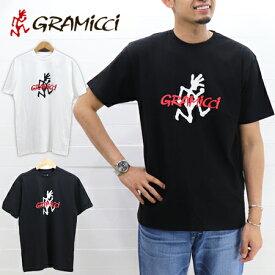 ≪15%OFF&ゆうパケットで送料270円≫GRAMICCI MENS LOGO TEE GUT-19S086 / グラミチ メンズ ロゴプリント 半袖 Tシャツ GUT-19S086