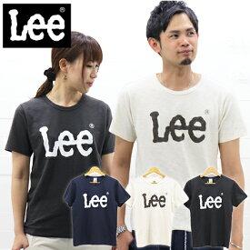 ≪15%OFF&ネコポスで送料216円≫Lee MENS LADIES BIG LOGO T-SHIRT LS7407 / リー メンズ レディース BIGロゴ Tシャツ LS7407 ユニセックス