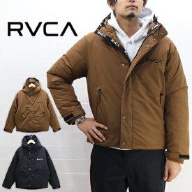 ≪送料無料≫RVCA MENS HOODED PUFFA JACKET AJ042-760 / ルーカ メンズ フード付 中綿ジャケット AJ042-760