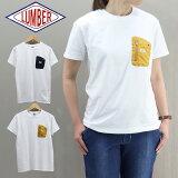 ≪ゆうパケット送料無料≫LUMBERLADIESZIPPERPOCKETSHORTSLEEVET-SHIRT201920/ランバーレディースジップポケット半袖Tシャツ201920