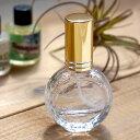 アルコール対応型!安心のガラス製!ガラス製 スプレーボトルドラム型ボトル 10ml 5本セット(手作り香水 アトマイザ…