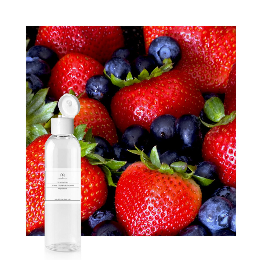 コスパで選ぶなら、お得な60mlサイズ!ベリーベリー -Very Berry-業務用サイズ60mlハイグレード アロマクラフト用 フレグランスオイル(手作り石鹸 香水 キャンドル バスボム サシェ / ディフューザー 加湿器 ネブライザー用)
