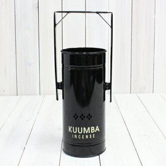 "KUUMBA / Kumba ""INCENSE BURNER-Regular' (BLACK)"