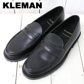 【クーポン配布中】KLEMAN (クレマン)『DALIA』(BLACK)【正規取扱店】【smtb-KD】【sm15-17】【楽ギフ_包装】【コインローファー】【レディース】