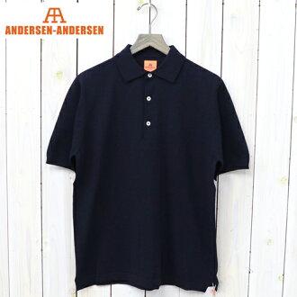 """ANDERSEN-ANDERSEN(安徒生-安徒生)""""POLO SHORT""""(Navy Blue)"""