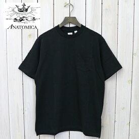 【10%OFFクーポン配布中】ANATOMICA (アナトミカ)『POCKET TEE』(Black)【smtb-KD】【sm15-17】【楽ギフ_包装】【ポケットTシャツ】【Made in Japan】【メンズ】