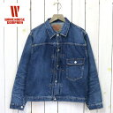 【10%OFFクーポン配布中】WAREHOUSE (ウエアハウス)『2ND-HAND 2001 DENIM JACKET』(USED WASH)【正規取扱店】【smtb-…