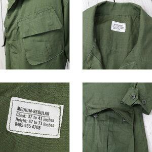 【クーポン配布中】DEADSTOCK(デッドストック)『JungleFatigueJacket』【smtb-KD】【sm15-17】【楽ギフ_包装】【60年代】【アメリカ軍】【ジャングルファティーグジャケット】【ミリタリー】