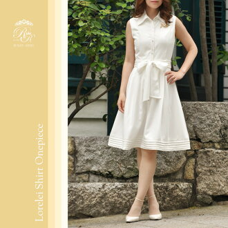 ☆ old model OUTLET ★ Regina Lisle BEAUTE ☆ courier flights ☆ home cleaning OK ☆ ladies / spring / sleeveless / knee-length and knee-length 02P01Jun14