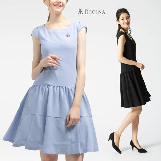 ☆It is Lady's no sleeve flare for 50 generations for entrance ceremony graduation ceremony entering a kindergarten-type graduation ceremony wedding ceremony presentation concert four Marwan peace adult refined きれいめ Shin pull black navy dark blue beige mo