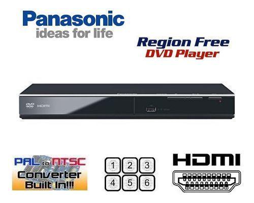 【PSE対応】【完全1年保証 3年延長保証対応】【パナソニック PANASONIC DVD-S700】【HDMI端子搭載 コンパクトデザイン DVDリージョンフリープレーヤー(PAL/NTSC対応) 世界中のDVDが視聴可能【販売店保証書/HDMIケーブル/変換コンセント 付属】【海 外 仕 様】