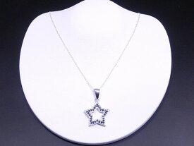 CZ ブラックダイヤモンド ネックレス ジルコニア ネックレス スター ネックレス アクセサリー レディース ネックレス キュービックジルコニア 星 デザイン ネックレス 【ダイヤモンドに匹敵する輝きがここに】