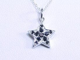 スター ネックレス CZ ブラックダイヤモンド ネックレス ジルコニア ネックレス アクセサリー レディース ネックレス キュービックジルコニア 星 デザイン ネックレス 【ダイヤモンドに匹敵する輝きがここに】