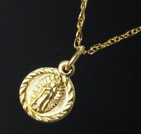 マリアメダイ ネックレス ゴールド ネックレス レディース ネックレス メンズ ネックレス ユニセックス ネックレス チャーム アクセサリー 40cmチェーン