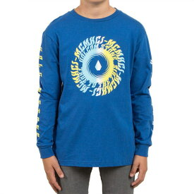 【SPECIAL PRICE】 VOLCOM ボルコム キッズ(3-7才) ロングTシャツ ロンTee Y3631730 Stone Tide L/S Tee Little Youth [TRB] スノーボード スケートボード サーフィン ストリート