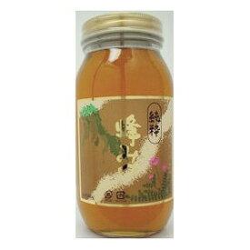 【1本あたり582円でお買い得/ケース販売/送料無料】純粋 蜂蜜(ビン入り)1kg×12本