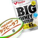 (ラグビーLOVE/特別割引)【Kentai】BIG ビッグ 100% ホエイプロテイン プレーンタイプ 3kg (送料無料)【ケンタ…