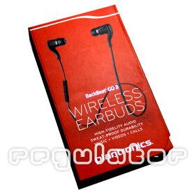 【2019特売】(送料無料)(plantronics)BackBeat GO2/プラントロニクス バックビート GO2 Bluetooth ワイヤレススポーツイヤホン(カラー ブラック)