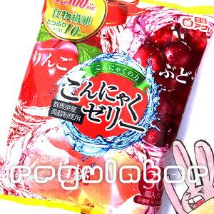 【魅惑のアソート3種類】雪国アグリ 蒟蒻ゼリー/こんにゃくゼリー30個入 (コラーゲン入り) りんご味・ぶどう味・白桃味