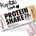 (まとめ買い/ケース販売)【Kentai】PROTEIN SHAKE プロテインシェイク キャラメル風味 200ml×24本 (送料無料)【…