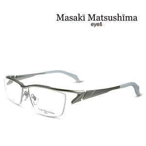 マサキマツシマ Masaki Matsushima メガネ フレーム MF-1237 C-1 メタリックゴールド 度付きメガネ 伊達メガネ 日本製 眼鏡