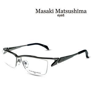マサキマツシマ Masaki Matsushima メガネ フレーム MF-1237 C-3 グレー 度付きメガネ 伊達メガネ 日本製 眼鏡