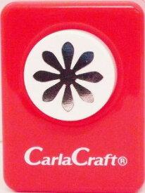 ●取寄品●【クラフトパンチ/Carla Craft】デイジー/手紙やカードのワンポイント!スクラップブッキング型抜きパンチング/紙をはさんで押すだけ♪【メール便不可】
