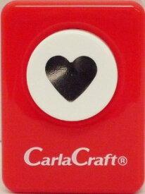 ●取寄品●【クラフトパンチ/Carla Craft】ハート/手紙やカードのワンポイント!スクラップブッキング型抜きパンチング/紙をはさんで押すだけ♪【メール便不可】