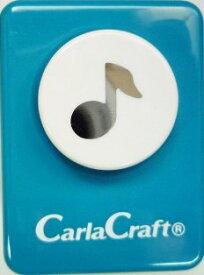 ●取寄品●【クラフトパンチ/Carla Craft】ミュージック/手紙やカードのワンポイント!スクラップブッキング型抜きパンチング/紙をはさんで押すだけ♪【メール便不可】