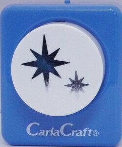 ●取寄品●【クラフトパンチ/Carla Craft】CP-2 スパークル/手紙やカードのワンポイント!スクラップブッキング型抜きパンチング/紙をはさんで押すだけ