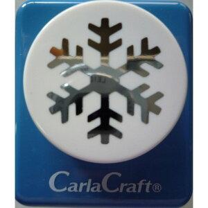 ●取寄品●【クラフトパンチ/Carla Craft】CP-2 ゆき-B/手紙やカードのワンポイント!スクラップブッキング型抜きパンチング/紙をはさんで押すだけ