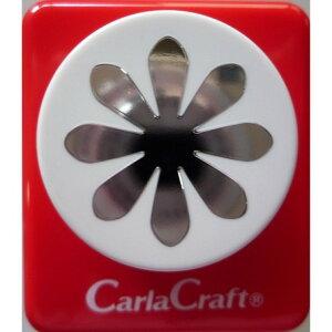 クラフトパンチ/Carla Craft CP-2 デイジー/手紙やカードのワンポイント!スクラップブッキング型抜きパンチング/紙をはさんで押すだけ