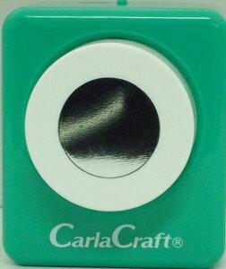●取寄品●【クラフトパンチ/Carla Craft】CP-2 3/4サークル/手紙やカードのワンポイント!スクラップブッキング型抜きパンチング/紙をはさんで押すだけ