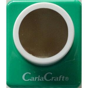 ●取寄品●【クラフトパンチ/Carla Craft】CP-2 1サークル/手紙やカードのワンポイント!スクラップブッキング型抜きパンチング/紙をはさんで押すだけ