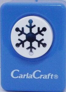 ●取寄品●【クラフトパンチ/Carla Craft】CP-1N ユキ-C/手紙やカードのワンポイント!スクラップブッキング型抜きパンチング/紙をはさんで押すだけ