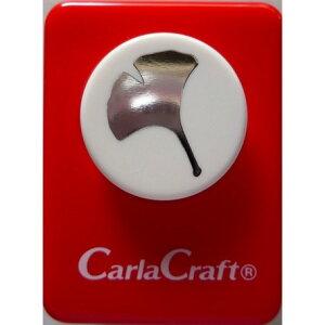 ●取寄品●【クラフトパンチ/Carla Craft】CP-1N イチョウ/手紙やカードのワンポイント!スクラップブッキング型抜きパンチング/紙をはさんで押すだけ