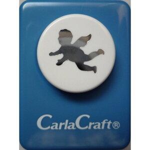 ●取寄品●【クラフトパンチ/Carla Craft】CP-1 エンジェルA/手紙やカードのワンポイント!スクラップブッキング型抜きパンチング/紙をはさんで押すだけ