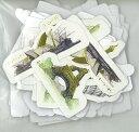 ステッカーシール ダイカットパーツ「世界旅行」(1袋)/スクラップブッキングやメッセージカードのデコレーション