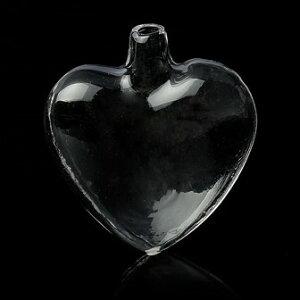 【ガラスボトル】(1個)ミニサイズのガラス瓶(フタなし)/ビーズ・パーツの仕分けコレクションに多肉植物に/40mm×36mm