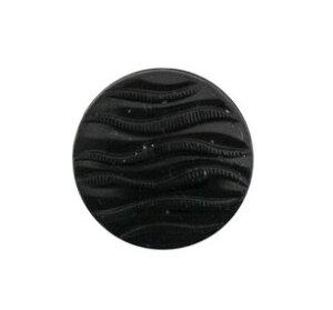 チェコボタン(1個)ガラスボタン 昔ながらの素朴な手作り釦/サイズ18mm