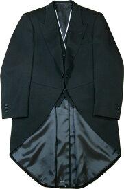 【高品質】 モーニングコート コールズボン無し 日本製 ウールマークブレンド 礼服 モーニング フォーマル メンズ 紳士 男 男性用 昼 正装 礼装 衣装 衣裳 結婚式 葬式 着こなし 着方 送料無料 A8700