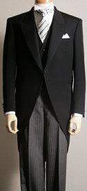 【高品質】 モーニングコート コールズボン付き 日本製 ウールマークブレンド 礼服 モーニング コールパンツ フォーマル メンズ 紳士 男 男性用 昼 正装 礼装 衣装 衣裳 結婚式 葬式 着こなし 着方 【送料無料】A8700-559