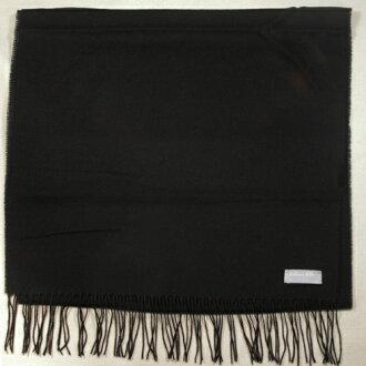 Joshua Ellis羊绒100%货摊·围巾男女兼用(乔舒亚埃利斯)英国制造TPW47728-BLACK