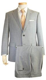 スーツ   メンズ ビジネススーツ メンズスーツ スタンダード レギュラー シングル 2ボタン ワンタック ストライプ ライトグレー 春 春夏 紳士 男性 40代 50代 ベーシック 着こなし コーデ おしゃれ おすすめ 送料無料 141284-53