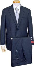 DORMEUIL スーツ   メンズ ビジネススーツ メンズスーツ 英国製生地 スタンダード レギュラー シングル 2ボタン ワンタック ストライプ 紺 ネイビー 春 夏 紳士 男性 40代 50代 ベーシック 着こなし コーデ おしゃれ おすすめ コスパ 送料無料 4301