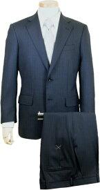 DORMEUIL スーツ   メンズ ビジネススーツ メンズスーツ スタンダード レギュラー シングル 2ボタン ワンタック ストライプ 紺 ネイビー 春 夏 紳士 男性 40代 50代 ベーシック 着こなし コーデ おしゃれ おすすめ コスパ 送料無料 4303