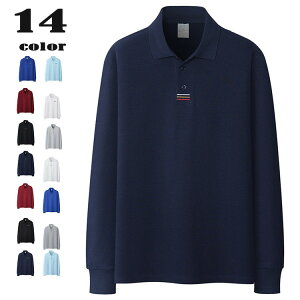 ポロシャツ メンズ 長袖 POLO 綿100% 長袖ポロシャツ ゴルフウェア カットソー 大きいサイズ 新作