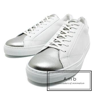AMB Ambassadors of minimalism and ambasadersobuminima rhythm 9838 leather race up sneaker