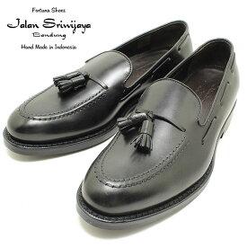 JALAN SRIWIJAYA ジャランスリウァヤ 98811 タッセルローファー ダイナイトソール BLACKカーフ ビジネス/ドレス/紐靴/革靴/メンズ