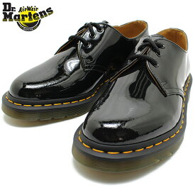 Dr.Martens ドクターマーチン 1461 3EYE SHOES 10084001 BLACKPATENT 短靴/Dr.Martens/定番